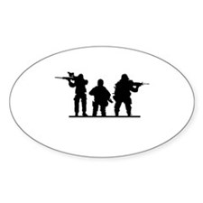 Army Soldiers Decal