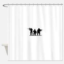 Army Soldiers Shower Curtain