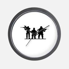 Army Soldiers Wall Clock