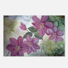 Clematis Postcards (Package of 8)
