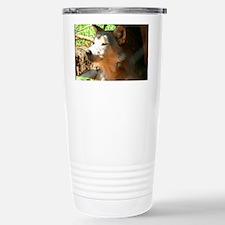 Wolf Travel Mug
