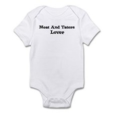 Meat And Taters lover Infant Bodysuit