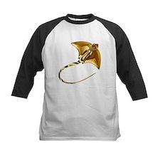 Gold Manta Sting Ray Baseball Jersey