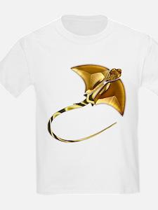 Gold Manta Sting Ray T-Shirt
