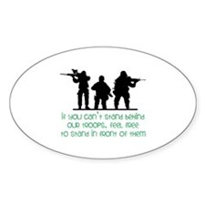 Our Troops Decal