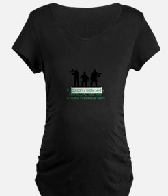 Our Troops Maternity T-Shirt