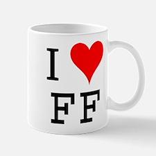 I Love FF Mug