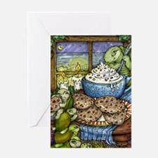 Cookies and Cocoa Greeting Cards