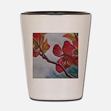 Dogwood Flower Shot Glass