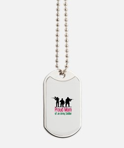 Proud Mom Dog Tags