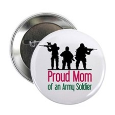 "Proud Mom 2.25"" Button"