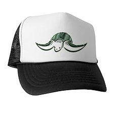 Diving Green Sea Turtle Trucker Hat