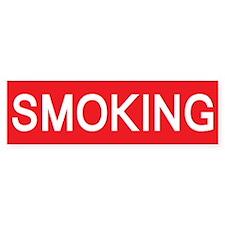 stop smoking Bumper Bumper Sticker