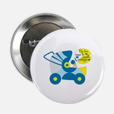 """Big Love Comes In Small Packages 2.25"""" Button (100"""