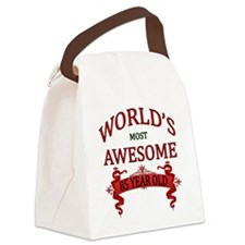 World's Most Awesome 85 Year Old Canvas Lunch Bag