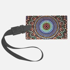 moroccan mosaic Luggage Tag