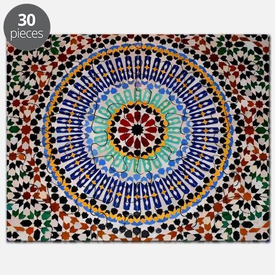 moroccan mosaic Puzzle