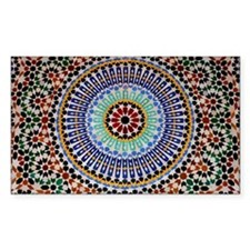 moroccan mosaic Decal