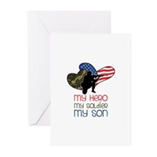 My Hero Greeting Cards