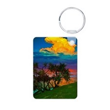 Tropical Awakening Keychains