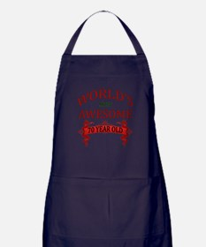 World's Most Awesome 70 Year Old Apron (dark)