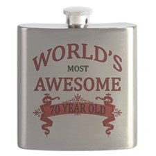 World's Most Awesome 70 Year Old Flask