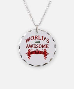 World's Most Awesome 70 Year Necklace Circle Charm