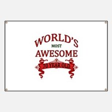 World's Most Awesome 70 Year Old Banner