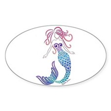 Tribal Mermaid Decal