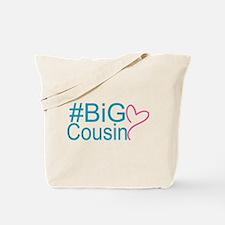 Big Cousin - Hashtag Tote Bag