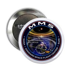 "Magnetospheric Multiscale 2.25"" Button"