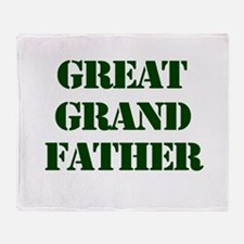 Great Grandfather Throw Blanket