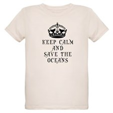 Keep Calm and Save The Oceans T-Shirt