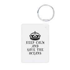 Keep Calm and Save The Oce Keychains