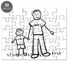 Father and Son Drawing Puzzle