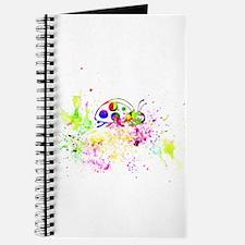Ladybug splatter Journal