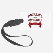 World's Most Awesome 18 Year Old Luggage Tag