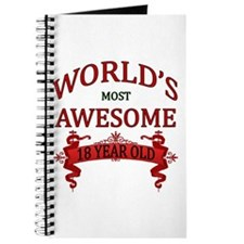 World's Most Awesome 18 Year Old Journal