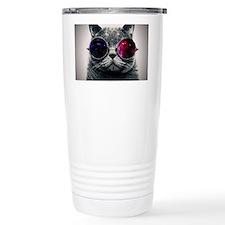 Cool Cat-Galaxy Travel Mug