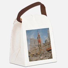 Last Beam Ground Zero Canvas Lunch Bag