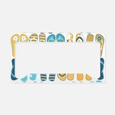 Fun Flip Flops License Plate Holder