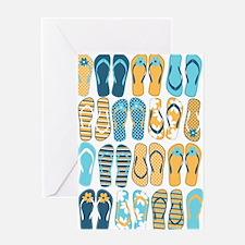 Fun Flip Flops Greeting Cards