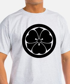 Wood sorrel with swords in circle T-Shirt