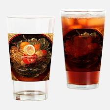 fruit mosaic Drinking Glass