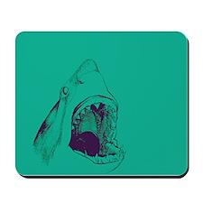 Shark (green) Mousepad