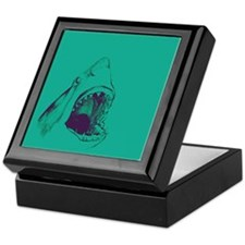 Shark (green) Keepsake Box