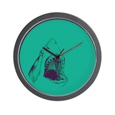 Shark (green) Wall Clock