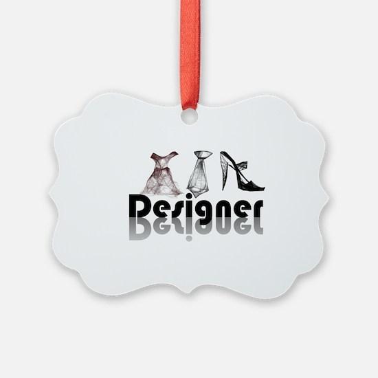 Unique Fashion designer Ornament