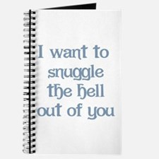 I Want to Snuggle You Journal