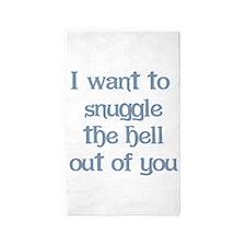 I Want to Snuggle You 3'x5' Area Rug